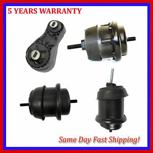 Motor Trans Mount For 4pcs Buick Enclave Gmc Acadia Chevrolet Traverse 3 6l