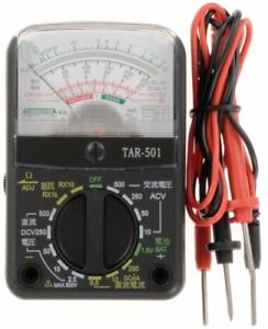 Ohm Electric Inc Multimeter Small Analog Multi Tester Tar 501with Tracking