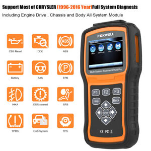 Obd2 Scanner For Chrysler Dodge Jeep Diagnostic Tool Abs Srs Epb Dpf Oil Tool