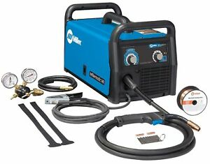Miller Electric Mig Welder Millermatic 141 Series Input Voltage 120vac
