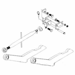 2 Point Hitch Conversion Kit International 400