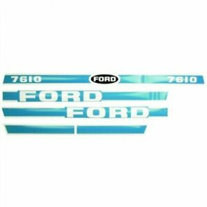 Decal Set Ford 7610 83928794