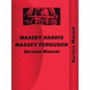 Service Manual 20 20k Massey Harris 20 20 20 20