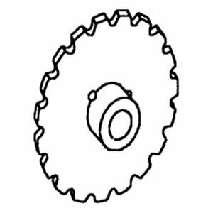 Separator Rattle Drive Sprocket Gleaner F2 F3 71333628