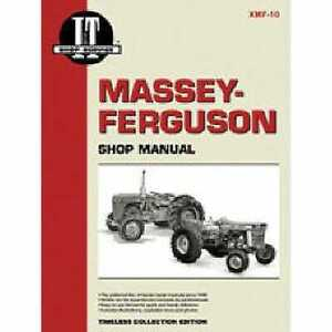 I t Shop Manual Massey Harris 444 444 333 333 Massey Ferguson 1001 1001 303 303