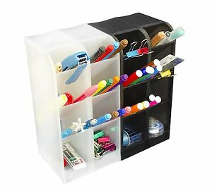 Office Desk Organizer Student Teacher Supplies Rack Holder Storage Stand Set New