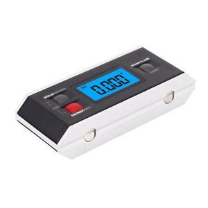 Digital Protractor Angle Finder Level Inclinometer Magnetic 0 360 Degree