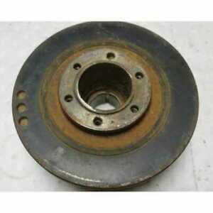 Used Crankshaft Pulley With Dampener Compatible With John Deere 5820 8630 5460