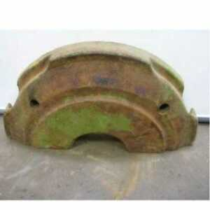 Used Rear Wheel Weight Set Compatible With John Deere 6600 7700 6620 7720 H78063