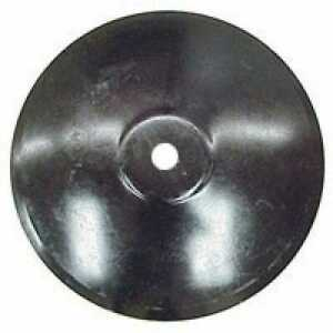 Disc Blade 22 Smooth Edge 1 4 Thickness 1 1 2 Round Axle Raised Flat Center