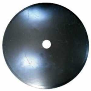 Disc Blade 24 Smooth Edge 1 4 Thickness 1 3 4 Round Axle