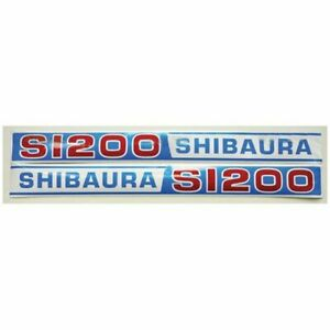 Decal Shibaura S1200