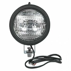 Sealed Beam Headlight Assembly 12v With Switch Round International 384 444