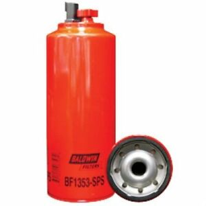 Filter Fuel Water Seperator Spin On With Drain Bf1353 With Sensor Port And