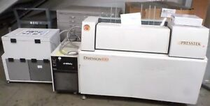 Presstek Dimension 400 Ctp W external Chiller Pat Ue 02ec computer To Plate