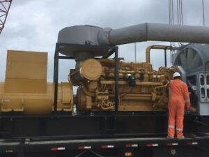 Caterpiller 3516c Oil Rig Package 1200 Rpm 60hz 600 V 1383 Kw Brand New 2013