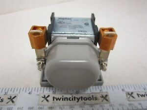 4 Pin Spst no dm Power Relay 12 Vdc Coil Volts Amps Resistive 100 Inductive 50