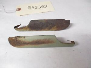 1959 1960 Chevy Belair 2 4 D Sedan Or Wagon Vent Wing Window Trim L