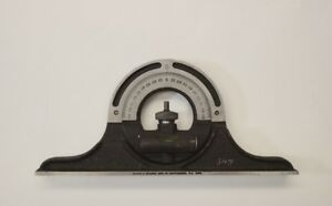 Brown Sharpe Reversible Protractor Head For Combination Square