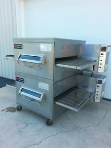 Middleby Marshall Ps200 Double Deck Conveyor Pizza Oven excellent Condition