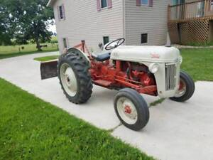 Ford 8n Tractor With Rear Blade And Hydraulics new Tires Excellent Condition