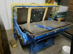 Imperia 34x48 Clamshell Die Cutter W air Clutch Auto Oiler