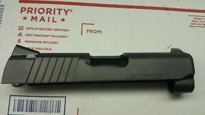 1911 3.5 Officers slide 9mm Trijicon Night sights IonBond  PVD parts