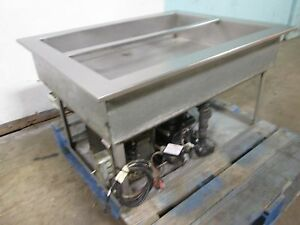 H d Commercial S s 40 X 32 Refrigerated drop in Cold Well salad Bar Insert