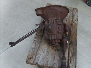 1928 1929 Ford Model Aa Truck Original 4 speed Transmission Bell Housing