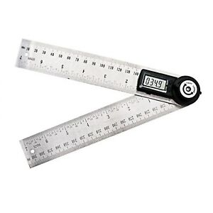 200mm Digital Angle Ruler Meter Protractor Inclinometer Goniometer Electronic