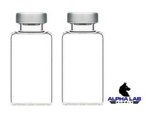 20ml Sterile Clear Glass Vials 25 Pack Free Shipping