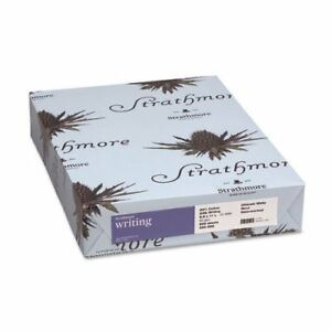 Strathmore Wove Paper Ivory 24lb Letter Writing Cotton Business