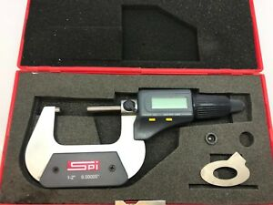 Spi Electronic Outside Micrometer 1 2 0 00005 Ip54