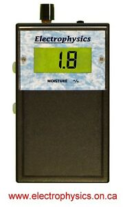 Electrophysics Model Grp100 Digital Pinless Moisture Meter
