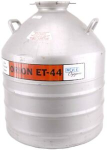 Mve Cryogenics Orion Et 44 84 day Hold Time Cryo Liquid Nitrogen Dewar Storage