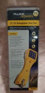 Brand New Fluke Ts 19 Telephone Test Set Model 19800hd9
