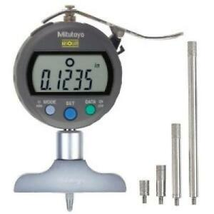 Mitutoyo 547 217s Digimatic Depth Gage 0 8 200mm Range 0005 0 01mm