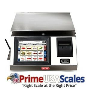 Torrey Wls20 40 Touchscreen Label Printing Scale 20 Kg 40 Lb Capacity 300