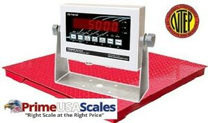 Triner Scale Ts2 5 33 ds d Drum Scale 2 500 X 0 5 Lb Capacity 3 X 3 Deck 7