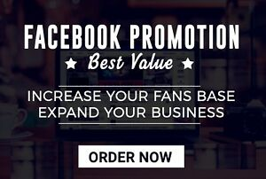 Promote And Advertise Facebook Page Gold Package