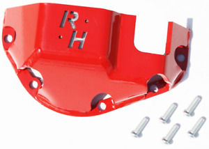 Rock Hard 4x4 Hardhat Differential Cover Red For Front Rear Dana 44 Rh 9051