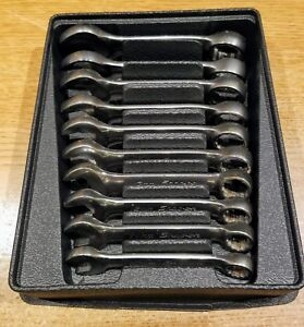 Snap On 10pc Stubby Metric Combination Wrench Set 10 19mm