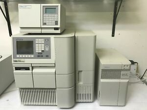 Waters Alliance 2695 Hplc W Column Heater 2487 Detector And Lac e Server