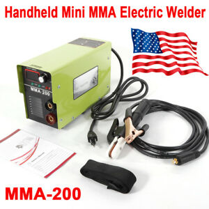 20 120 A Mini Welder Mma Arc Welding Machine Soldering Inverter Mma 200 110v