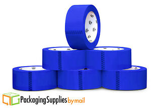 2 Mil Colored Packing Tape 2 Inch X 110 Yds Blue Carton Sealing Tapes 108 Rolls