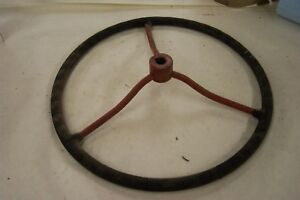 Large Steering Wheel Ih International Farmall A B 17 1 2 Diameter