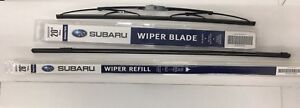 2008 2014 Subaru Tribeca B9 Front Windshield Wiper Blade Refill Set Genuine Oem