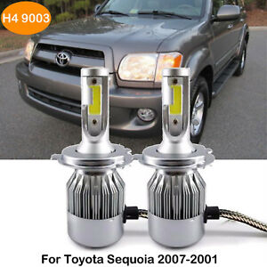 H4 9003 Led Headlight Kit Beam Bulbs For Toyota Sequoia 2007 2001 Replace Hid Us