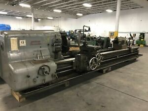 43 X 15 American Pacemaker Geared Head Lathe Engine Lathe