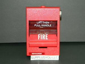 Edwards E 278 Intelligent Manual Pull Station Fire Alarm Part